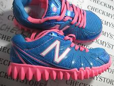 NIB NEW BALANCE  K2750KPY  Girls Athletic sneakers, Blue/Pink TODDLER/BIGKIDS