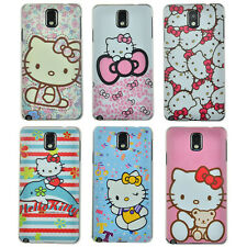 For Samsung Galaxy Note 3 III N9000 Hello Kitty Ultra-Thin Case Cover Free Film