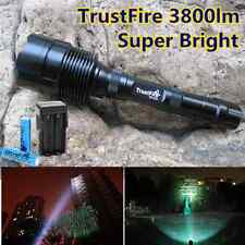 4000/3800 LM 3X CREE XML T6 LED Lampe Torche Torch 2X 3X 18650 +Chargeur Kit