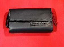 OEM Blackberry Horizontal Pouch Cover Purse Holder Holster Case with Strap - NEW