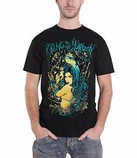 Bring Me The Horizon Forest Girl Official Mens New Black T Shirt All Sizes