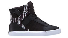 Supra Footwear Skytop Paint Stripes Muska Pro Skateboard High Top Sneaker Shoes