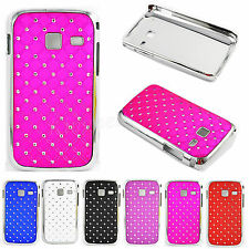 Shiny Bling Crystal Cell Phone Skin Case Cover for Samsung Galaxy Y Duos S6102