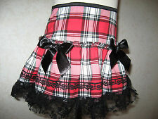 NEW Baby Girls Black,white, Red,Check  Frilly Party,Gift Skirt,Retro,Goth,Rock,