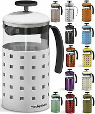 MORPHY RICHARDS 8 CUP 1000ML GLASS COFFEE PLUNGER CAFETIERE FRENCH PRESS MAKER