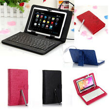 For Samsung Galaxy Tab 3 8.0 TAB Pro Tablet PU Leather Case Cover Keyboard Girls