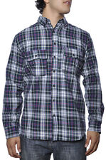 Diamond Supply Co Flannel Plaid Jewel Gem Stone Authentic Fashion Work LS Shirt