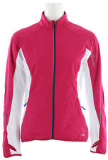 Salomon Superfast II Softshell Cross Country Ski Jacket Pink/White Womens