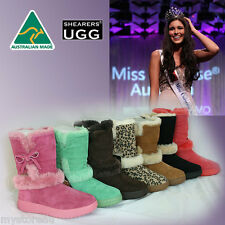 Genuine Australia SHEARERS UGG Boots Rubber Sole Sheepskin Suit Outdoor -Suzanne