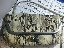 NEW NWT Jessica Simpson  Tiffany Fold Over Clutch DESIGNER BAG