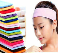 Unisex Sweatbands Sports Tennis Squash Badminton GYM Headbands Sweatband Bands