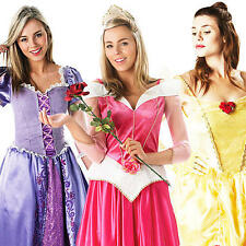 Disney Princess Ladies Fancy Dress Fairytale Book Week Womens Adults Costumes