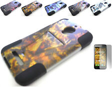 Design T-Stand Case+Free SP For Alcatel One Touch Fierce 7024W OT 7024N 7024T