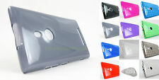 for Nokia Lumia 925 Tmobile Soft Frosted Lightweight TPU Skin Case Cover Prytoo
