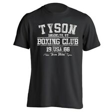 TYSON BOXING cool funny boxing fitness fighting awesome new MENS T-Shirt BLACK