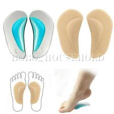 Kid Flat Feet Arch Orthotic Support Shoe Insole Silicone Pads Cushion Insert S L