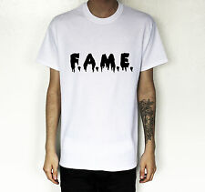 CHRIS BROWN FAME VINYL FANCY DRESS T-SHIRT TEE TSHIRT