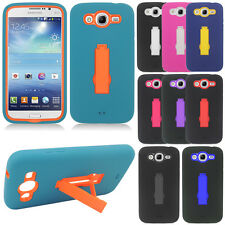 For Samsung Galaxy Mega 5.8 I9152 Case HYBRID STAND Rubber Hard Cover Symbiosis