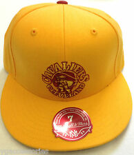 NBA Cleveland Cavaliers Mitchell and Ness Fitted Cap Hat M&N NEW!