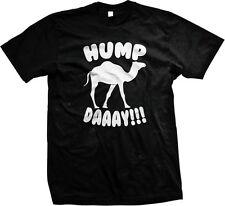 Hump DAAAY Camel Wednesday Middle of The Week Guess What Day It Is Mens Tshirt