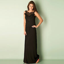 Womens Clubl Crochet Maxi Dress In Black From Get The Label
