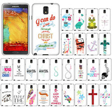 For AT&T Samsung Galaxy Note 3 N9005 N9000 Cassette Tape Snap On HARD Case Cover