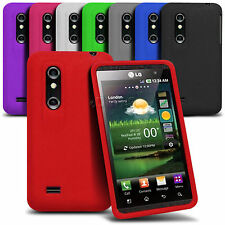 Silicone Skin Custodia Cover Per Lg Optimus 3d P920 - Various Colori