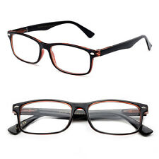 Women Reading Glasses Thin Slim Frame Transulcent Vertical Stripe Print