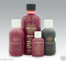 Squirt Blood .5 oz Pint Mehron Professional Stage Makeup Special Effects