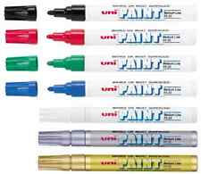 UNI POSCA PX-20 ROUND BULLET NIB PERMANENT PAINT MARKER PEN OIL BASED 8 COLOURS