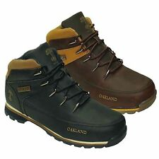 NEW MENS OAKLAND BOOTS WINTER WALKING HIKING TRAINERS WORK SHOES SIZES 6-12 UK