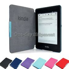 Ultra Slim Sleep/Wake Smart Leather Case Cover For Amazon Kindle Paperwhite