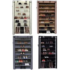 Songmics XXL Shoe Rack Shoes Cabinet Stand Standing Storage Organizer Furniture