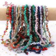 """4-6x6-8mm Freeform Chip Gemstone Beads For DIY Jewelry Making Spacer Strand 16"""""""