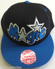NBA Orlando Magic Mitchell and Ness Fitted Cap Hat M&N NEW!