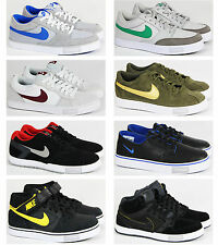 MENS NIKE CASUAL LACE UP HI LO TOP VULCANISED SKATE RETRO TRAINERS SHOES SIZE
