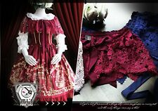 lolita Goth Visual Royal aristocrat Parfum Rose cluster knit lace shawl