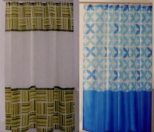 KASHI HOME Water Resist Polyester Fabric Bath Bathroom Shower Curtain Liner NEW