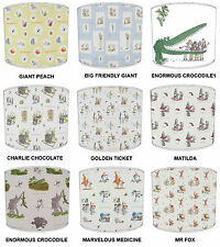 Lampshades Ideal To match Children`s Roald Dahl Duvets Curtains Bedding Cushions