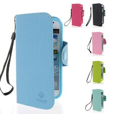 LeatherWallet Card Stand Pouch Case Cover For Samsung Galaxy Core I8260 I8262