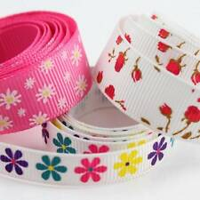 GROSGRAIN RIBBON 10/16/25mm VARIOUS DESIGNS DUMMY WEDDING CRAFTS CAKE FLOWERS
