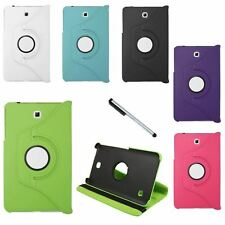 """For Samsung Galaxy Tab 4 8.0"""" Tablet Folio PU Leather Case Phone Cover Stylus"""