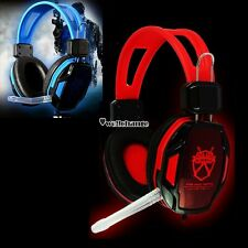 Stereo Bass Headphone New Headset Earphone With Microphone for Laptop PC Mac