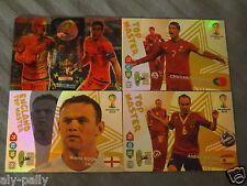 Fifa World Cup Brasil Brazil Adrenalyn XL 2013-2014 Panini cards double trouble