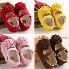 Hot Newborn Soft Bottom Infant Toddler Sole Crib girls 0-18 Months Baby shoes LM