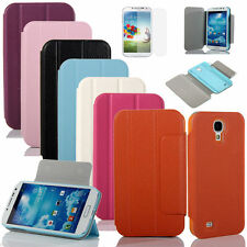 New For Samsung Galaxy SIV S4 i9500 Mangnetic PU Leather Flip Wallet Case Cover