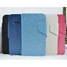 5Colors Leather Folio Flip Case Cover for Alcatel One Touch Idol Mini 6012D a