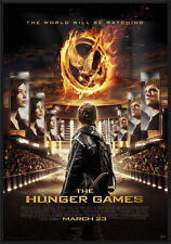 """THE HUNGER GAMES - FRAMED MOVIE POSTER (REGULAR STYLE) (SIZE: 27"""" X 39"""")"""