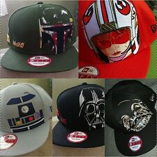 Star Wars Vader Snapback Cap New Era Snap Chew Luke Skywalker R2D2 Hat Snapback