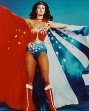 WONDER WOMAN LYNDA CARTER CAPE SPREAD OPEN PHOTO OR POSTER